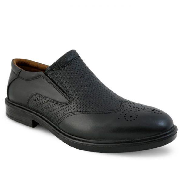 کفش رسمی هشت ترک چرم