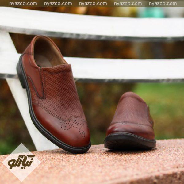 کفش مردانه کو مدل بوته الوند کد CO2