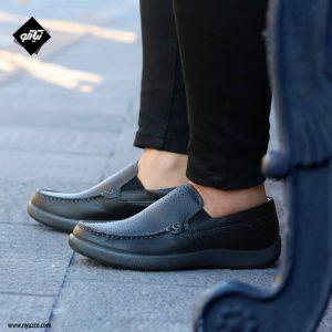 کفش چرم کالج فرزین