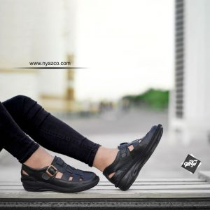 خرید کفش چرم مردانه تابستانی پازین
