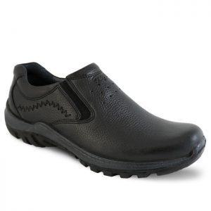 کفش مردانه چرم کلاک بدون بند فرزین