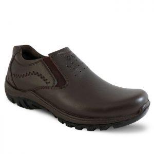 کفش مردانه کلارک قهوه ای فرزین