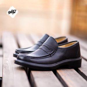 کفش چرم مردانه سانترال فرزین