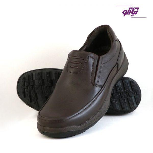خرید آنلاین کفش راحتی موناکو فرزین قهوه ای