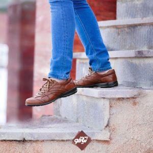 خرید کفش اسپورت عسلی همگام اسکوتر