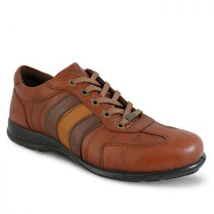 کفش اسکوتر 3خط عسلی همگام