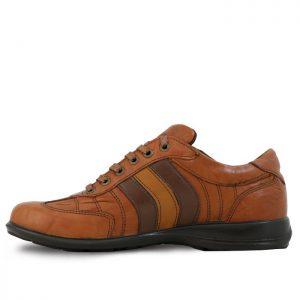 کفش چرم اسکوتر 3خط