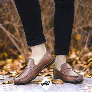 کفش مردانه کالج چرم تبریز