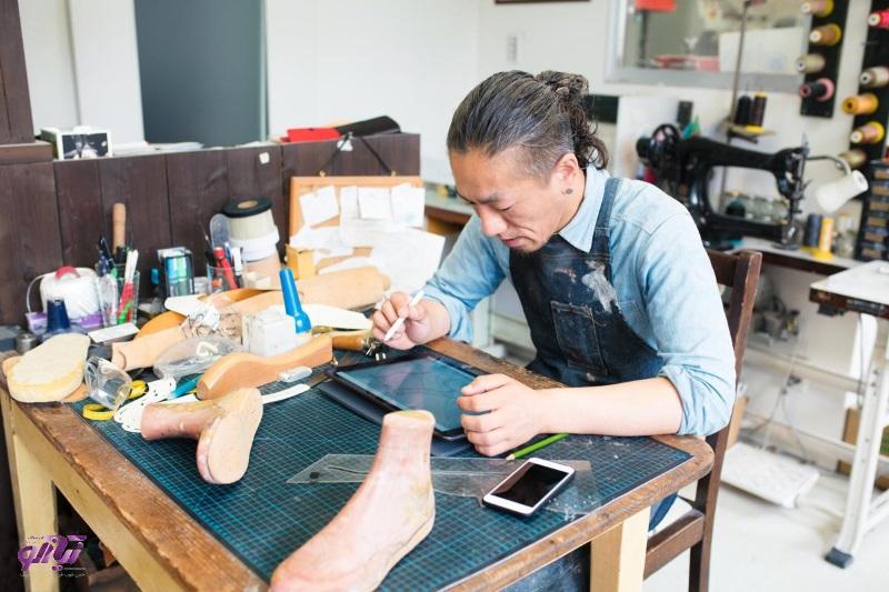 «رم افزار طراحی کفش سه بعدی