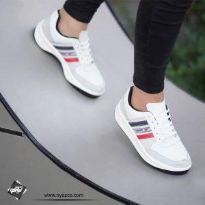 کفش اسپرت مردانه سه خط آنفالوس