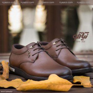 کفش مجلسی مردانه عسلی