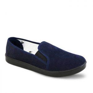 کفش روزمره مردانه ترکان مدل مخمل کد T01