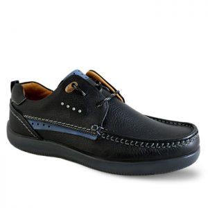 کفش کالج مردانه فرزین مدل پلاس کد P01