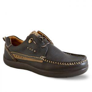 کفش کالج مردانه فرزین مدل پلاس کد P02