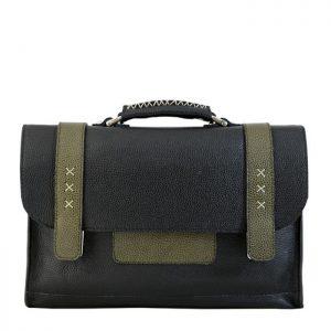 کیف لپ تاپ چرمی میشوچرم کد LAPTOP BAG C-1400