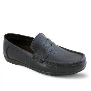 کفش کالج مردانه تبریز مدل اپل کد 70 رنگ مشکی