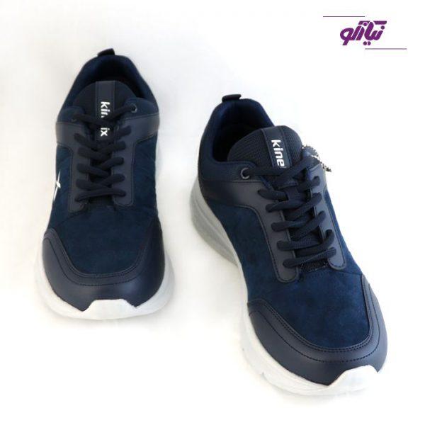 کفش ورزشی مردانه کینتیکس اصل ترکیه مدل بارتون رنگ سرمهای