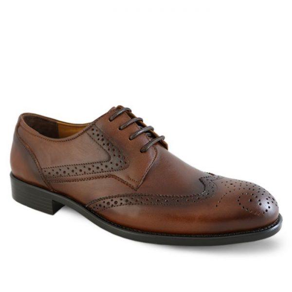 کفش مردانه سی سی مدل ادوارد کد 1195 رنگ قهوهای