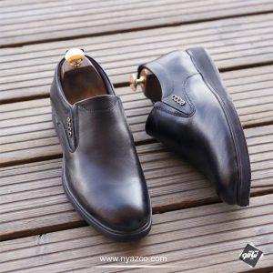 کفش مردانه چرم طرح اکو