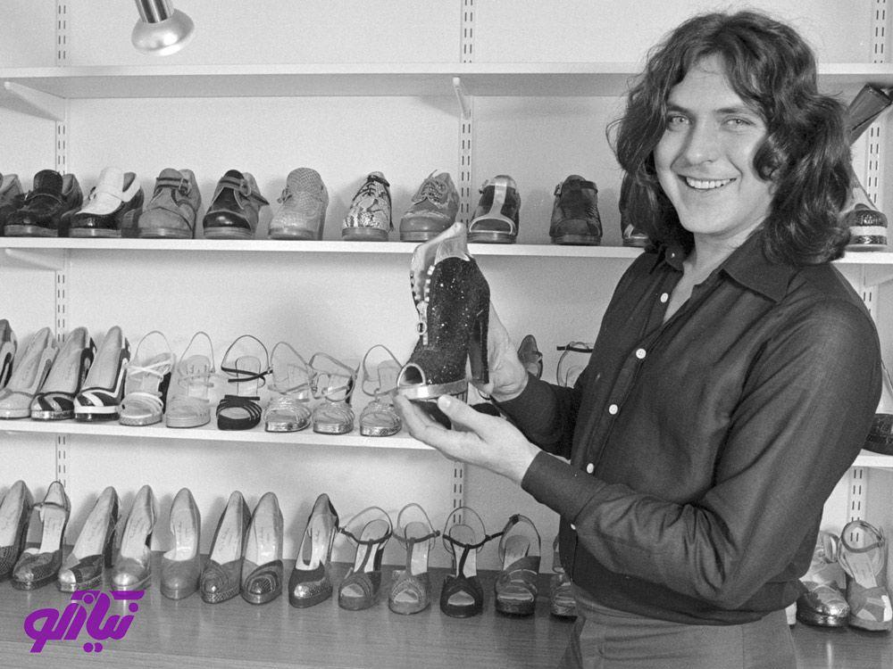 تری هاویلند طراح کفش ماندگار هالیوود