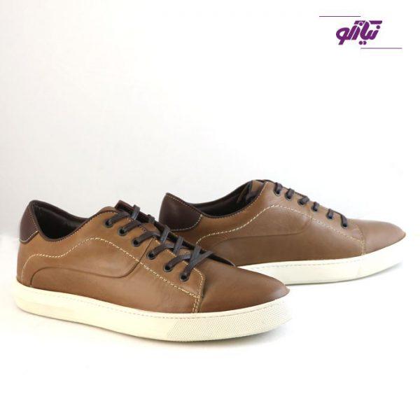 کفش ورزشی مردانه جیسی مدل ونس رنگ شکلاتی