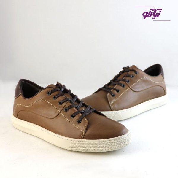 کفش ورزشی ارزان مردانه جیسی مدل ونس رنگ شکلاتی
