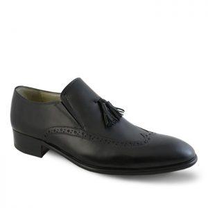 کفش رسمی مردانه نعمتی مدل رابرت منگولهدار