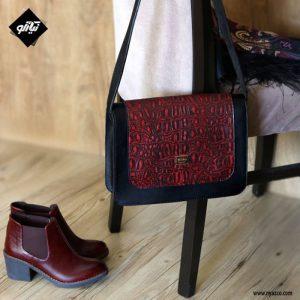 خرید کیف دوشی چرم زنانه