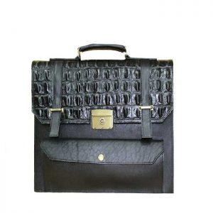 خرید کیف دیپلمات چرم لوک مدل هور