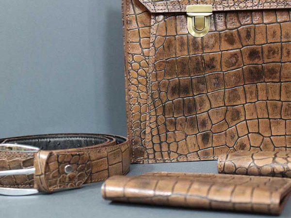 کیف چرم طبیعی گالری لوک مدل 9500