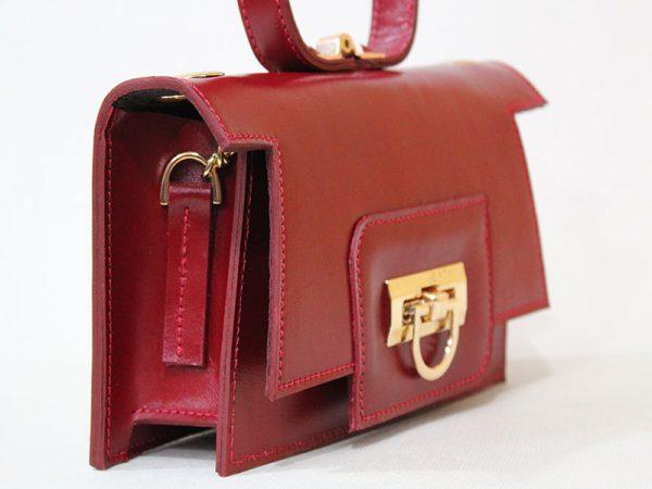 خرید اینترنتی کیف کلاچ زنانه چرم لوک مدل 1200 از سایت نیازکو