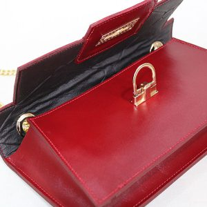 خرید کیف کلاچ زنانه چرم لوک مدل 1300 از نیازکو