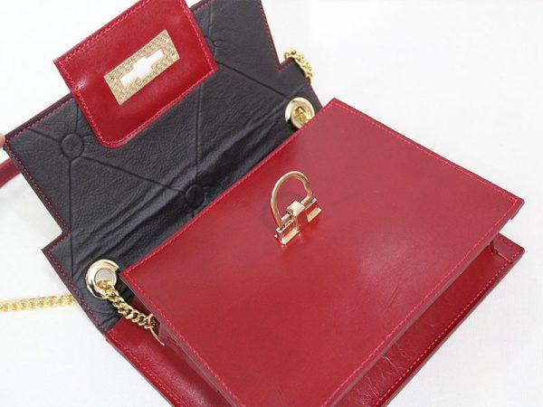 خرید کیف دوشی زنانه چرم لوک مدل 1100