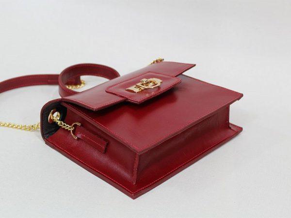 خرید اینترنتی کیف دوشی زنانه چرم لوک مدل 1100