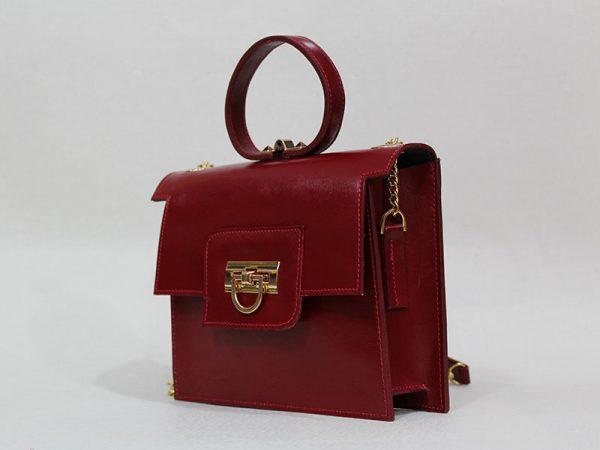 خرید کیف دوشی زنانه چرم لوک مدل 1100 از نیازکو