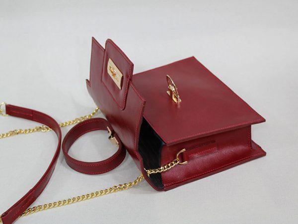 خرید کیف دوشی زنانه چرم لوک مدل 1100 از سایت نیازکو