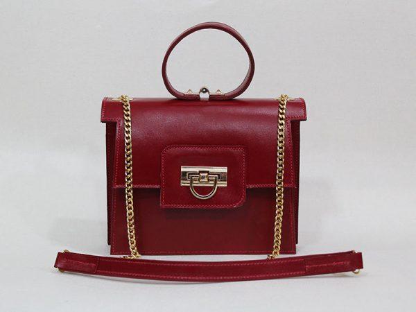خرید کیف دوشی زنانه چرم لوک مدل 1100 از فروشگاه نیازکو