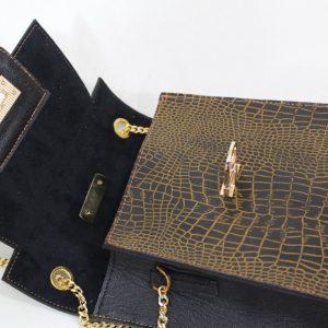 خرید کیف دوشی زنانه چرم لوک مدل 1110