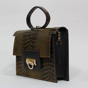 خرید کیف دوشی زنانه چرم لوک مدل 1120