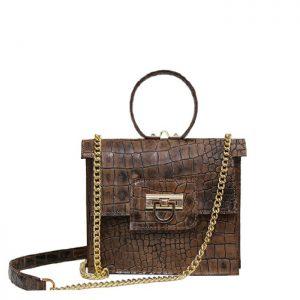 کیف دوشی زنانه چرم لوک مدل 1400