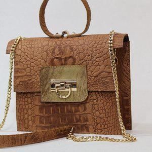 خرید کیف دوشی زنانه چرم لوک مدل 1500 از سایت نیازکو