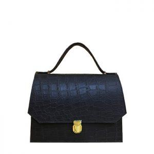 کیف دوشی زنانه چرم لوک مدل نگین