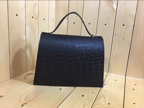 خرید آنلاین کیف دوشی زنانه چرم لوک مدل نگین