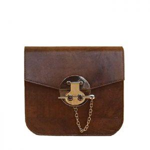 کیف دوشی زنانه چرم لوک مدل سولان
