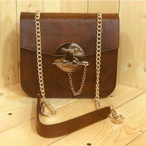 خرید کیف دوشی زنانه چرم لوک مدل سولان