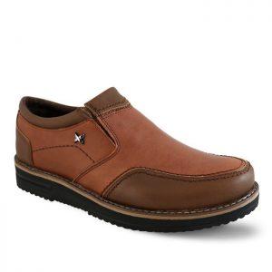 خرید کفش روزمره چرم مردانه تبریز مدل پرشین