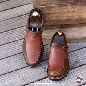 کفش چرم طبیعی مردانه تبریز