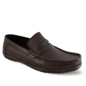 کفش کالج مردانه تبریز مدل اپل کد 70 رنگ قهوهای