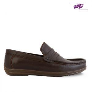 خرید کفش کالج مردانه تبریز مدل اپل کد 70 رنگ قهوهای