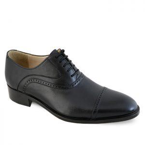 کفش رسمی مردانه نعمتی مدل سامان کد 124 رنگ مشکی